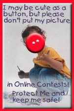 NO KIDS PICTURES ON THE WEB